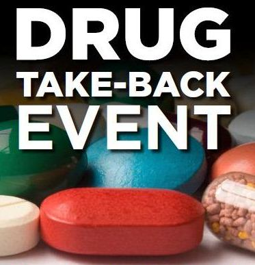 The City of Providence and Community Partners will hold a Prescription Drug-Take Back Day on Saturday, October 23rd, 2021!